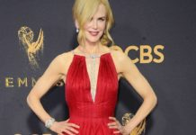 Nicole Kidman Wears Platinum Jewelry to the Emmys